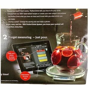 PERFECT DRINK Smart Scale/App Home Bartending Kit